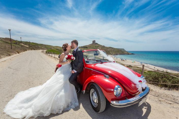 fotografia di matrimonio realizzata a San Giovanni di Sinis, Cabras, provincia di Oristano, Sardegna