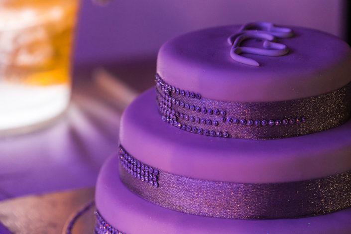 Dettaglio torta nuziale, fotografia di matrimonio realizzata a Oristano