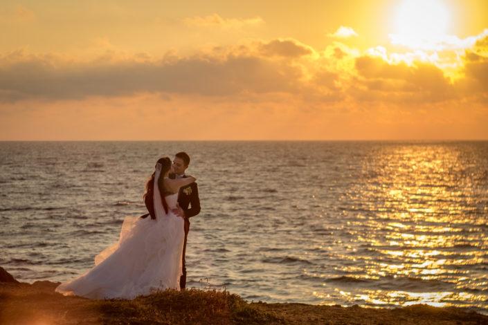 fotografia di matrimonio realizzata a San Giovanni, borgata di marina di Cabras, provincia di Oristano, Sardegna