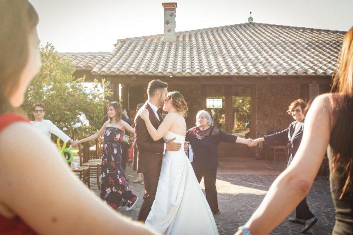 fotografia di matrimonio realizzata a Bonarcado, provincia di Oristano, Sardegna