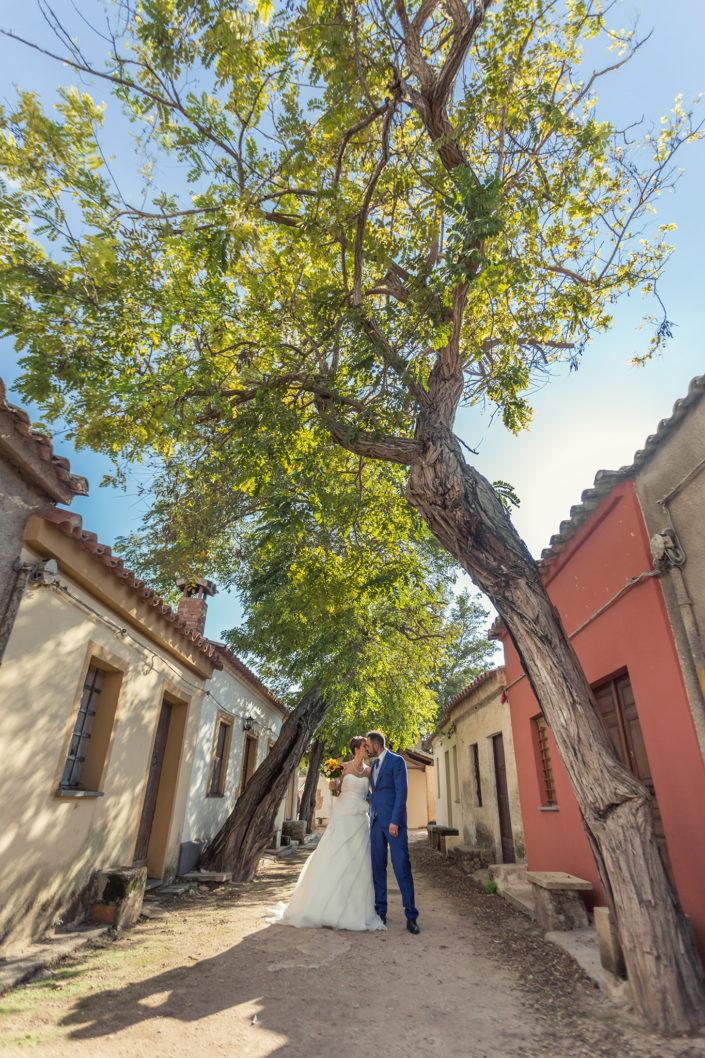 Fotografia di matrimonio nel villaggio di San Salvatore, comune di Cabras