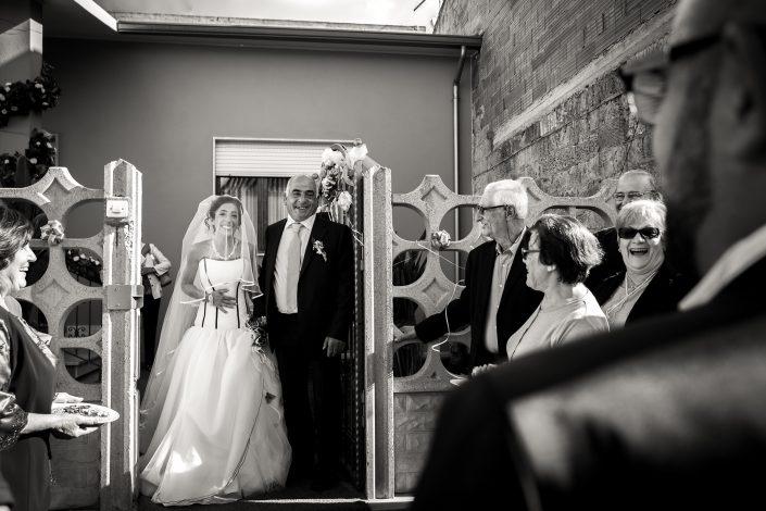 L'incontro degli sposi. Reportage di matrimonio a Cabras, Oristano