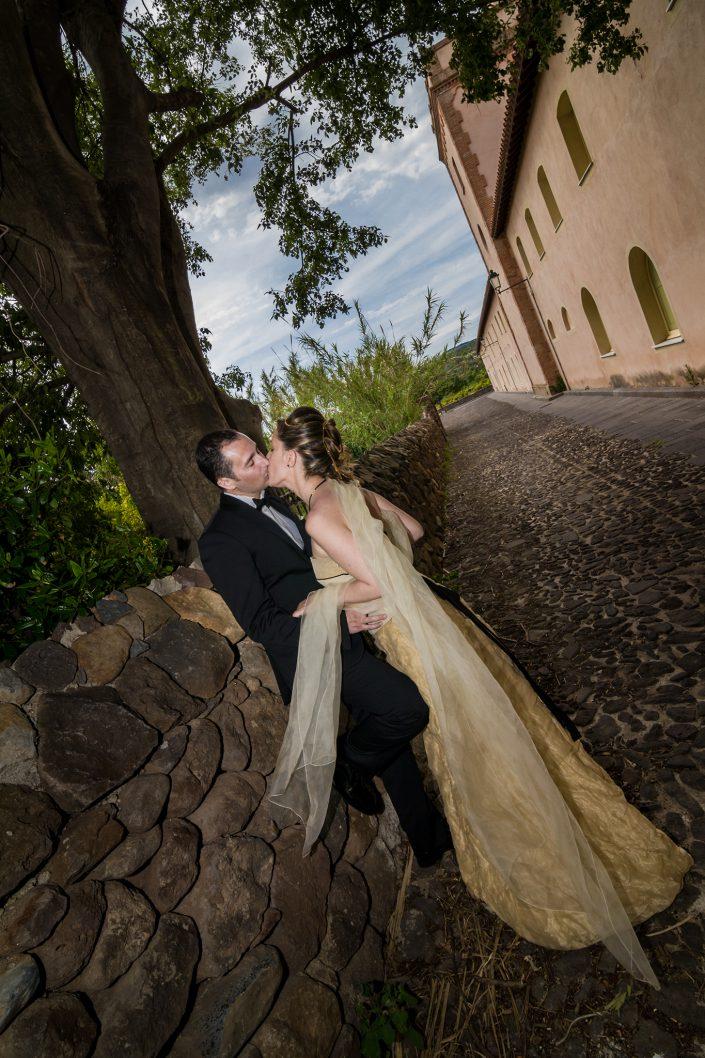 Fotografia di matrimonio scattata a Milis, provincia di Oristano