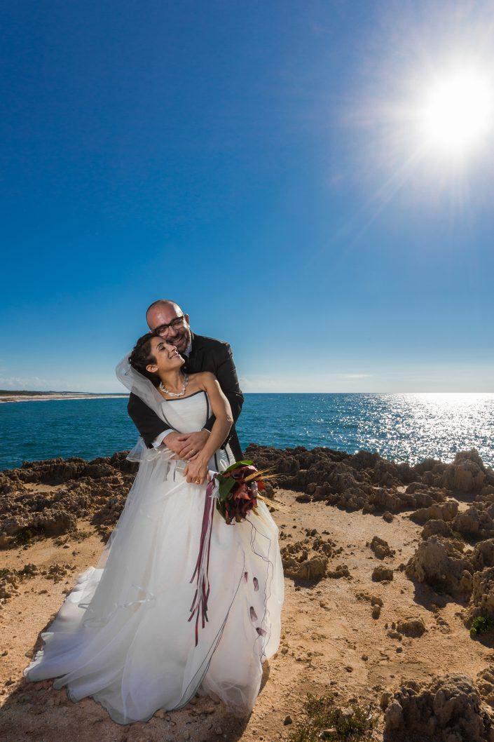 Foto di matrimonio a Is Arutas, Cabras