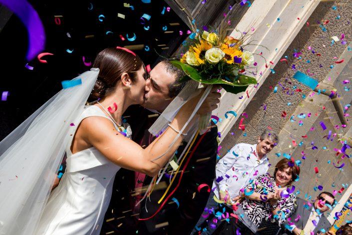 Matrimonio a Cabras. Uscita dalla Chiesa