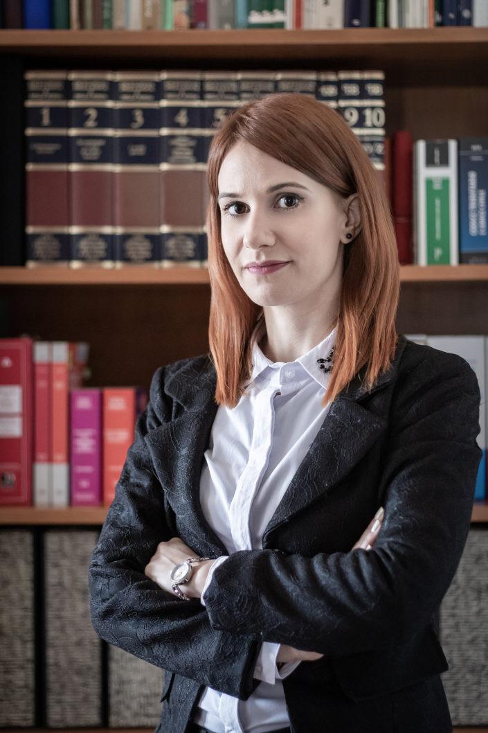 Ritratto per profilo professionale: Avvocato Alice Manca Oristano