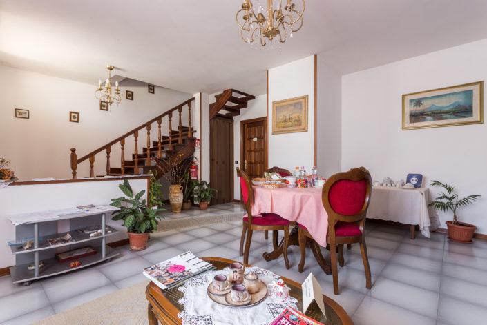 fotografia di interni realizzata in un B&B a Oristano per Airbnb