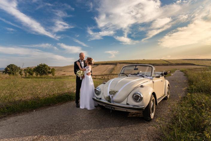 fotografia di matrimonio realizzata nella campagne di Suelli, Sardegna