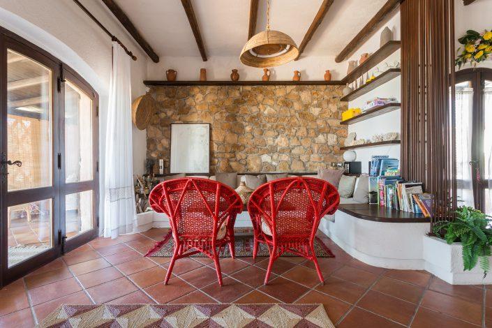 fotografia di interni in Sardegna. Servizio realizzato per Airbnb. Casa vacanza a S'Anea Scoada, provincia di Oristano. Sardegna