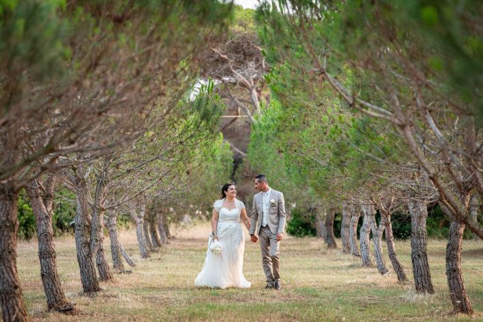 fotografia di matrimonio scattata a Marceddì, provincia di Oristano, Sardegna