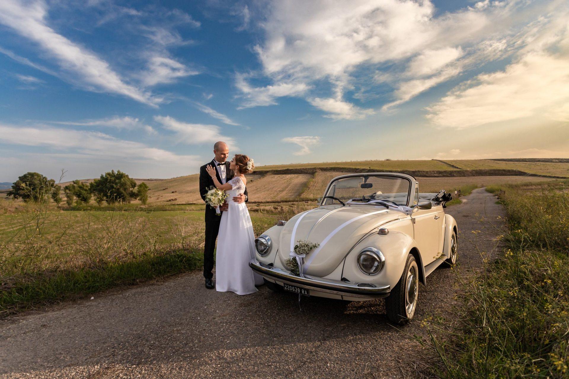 Fotografia di matrimonio in Sardegna. Foto scattata a Suelli